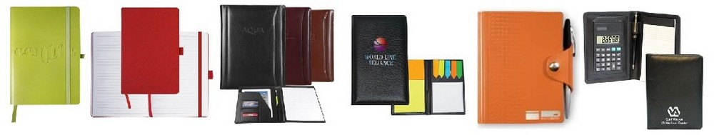 Custom Engraved Leather Padfolios