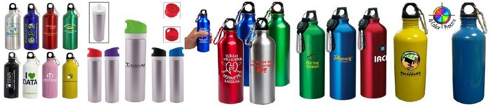 Aluminum Sports Bottle With Your Business Logo